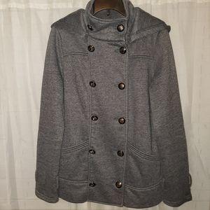 Forever 21 Gray Pea Coat